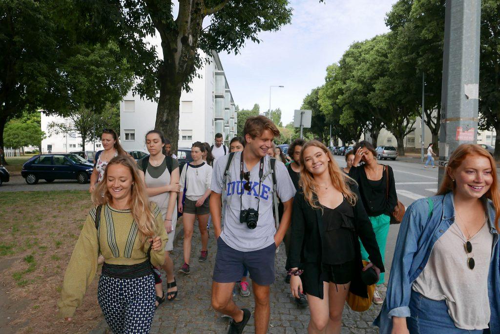 Summer school participants