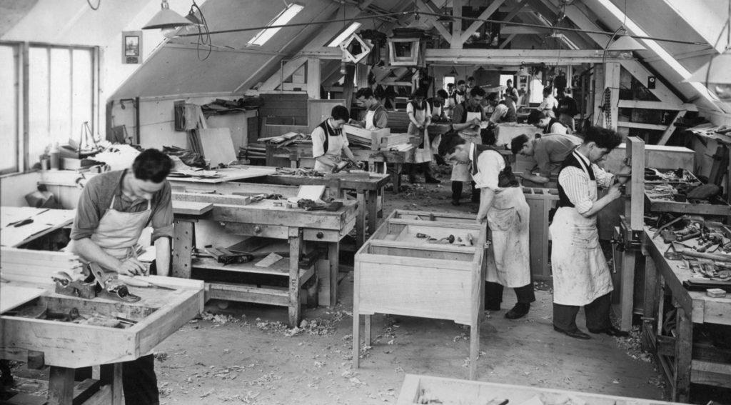 Black and white workshop
